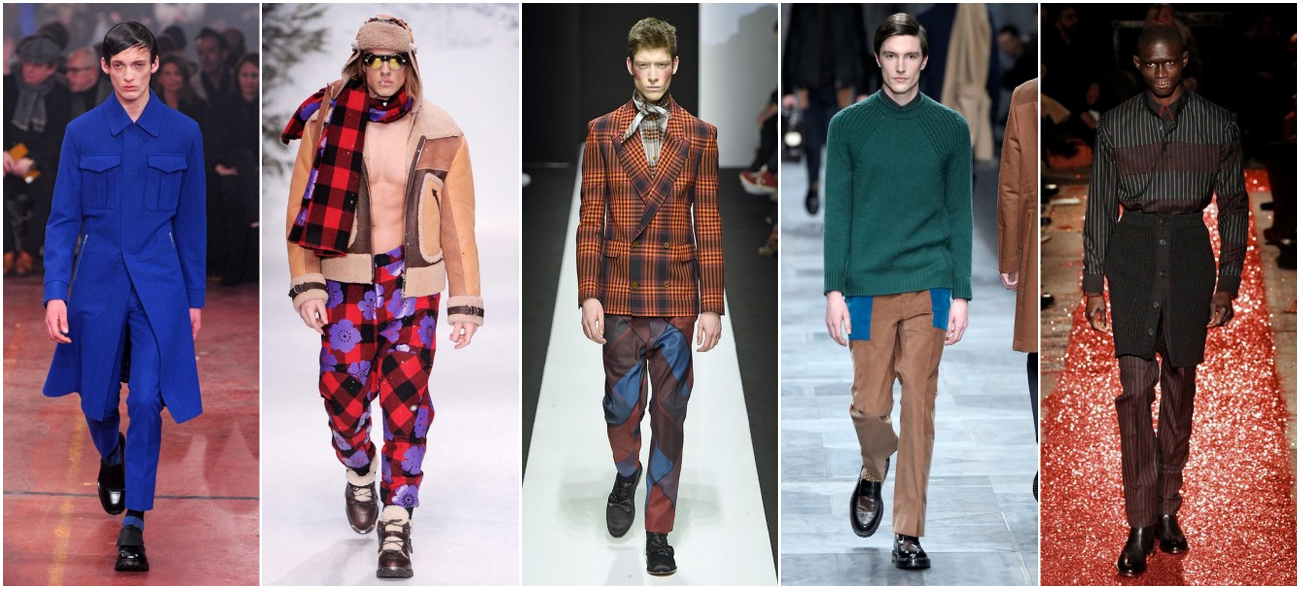 Confira um resumo das tendências masculinas nas semanas de moda de Londres,  Milão e Paris 7ca01b8041