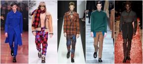 Confira um resumo das tendências masculinas nas semanas de moda de Londres, Milão eParis