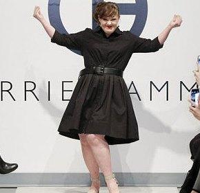 Modelo com síndrome de Down faz história na semana de moda de NovaYork