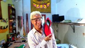 Os tênis artesanais da designer baiana LuPires
