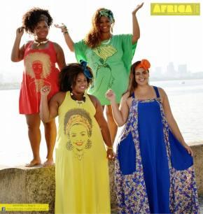 Africa Plus-Size Fashion Week Brasil celebra beleza negra eplus-size