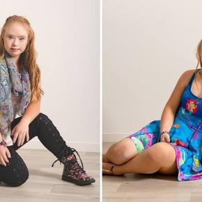 Garota com Síndrome de Down assina primeiro contrato comomodelo