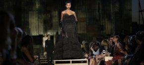 O super desfile da Givenchy na Semana de Moda de NovaYork