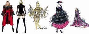 Divulgados os croquis dos figurinos que serão usados por Madonna em sua novaturnê