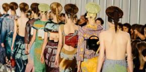 A primavera-verão da Semana de Moda de Paris (parte1)