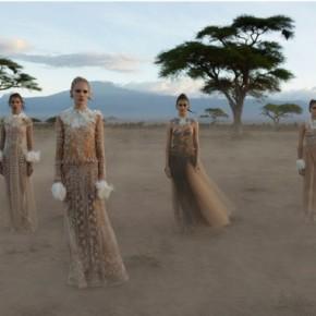 Valentino causa polêmica ao lançar nova campanha inspirada naÁfrica