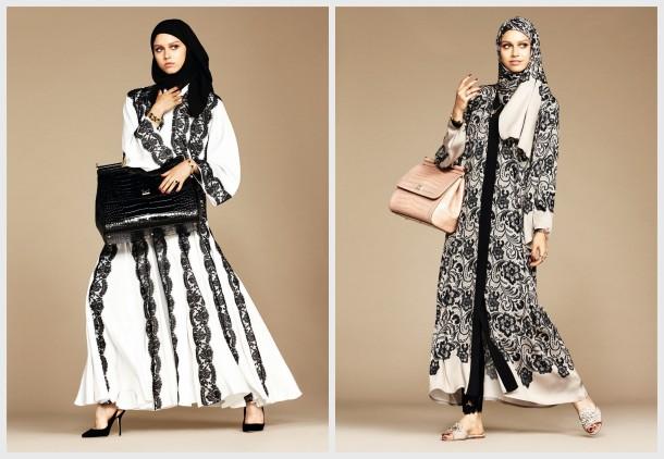 Dolce   Gabbana lança uma coleção de moda para muçulmanas   Morim eaf52cee79