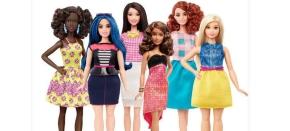 Mattel anuncia novos formatos de corpo para aBarbie