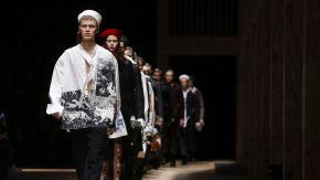 Estilo e elegância na Semana de Moda Masculina deMilão