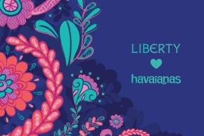 Havaianas fecha parceria com a Liberty London para novacoleção